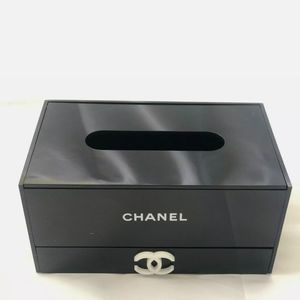 Chanel VIP tissue holder/Jewelry Box